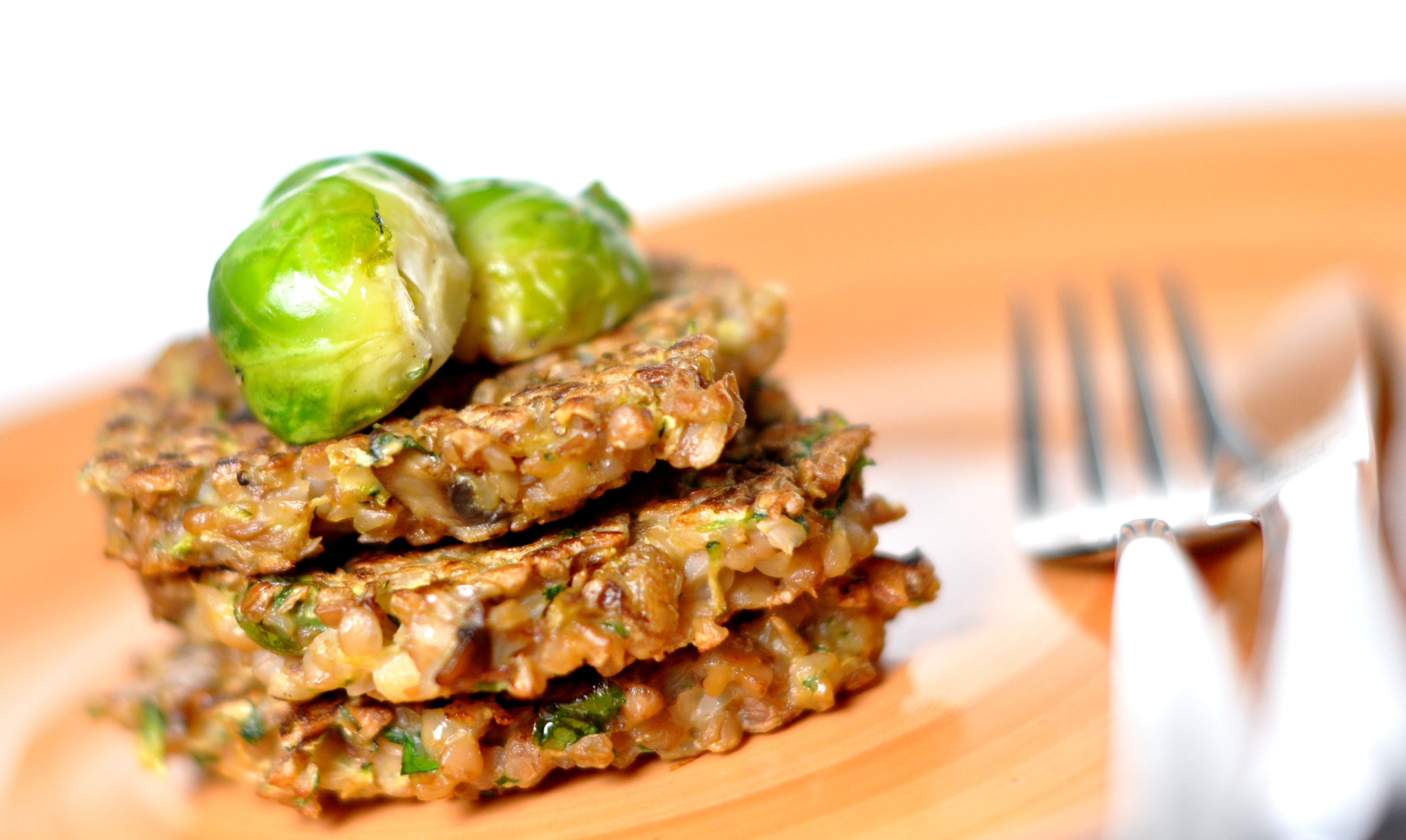 Buckwheat grouts fritters
